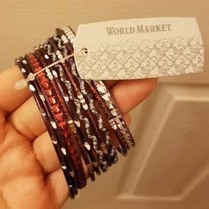 World Market Bangles 7 cm New With Tag